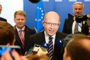 Česko musí zůstat v EU, zopakoval Sobotka