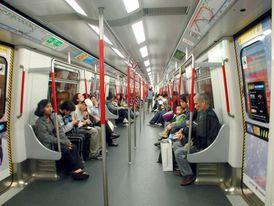 Hongkongské metro.