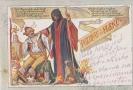 Dobová pohlednice od Fleků, foto antikvariát Beneš