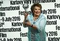 Na karlovarském festivalu představila Jiřina Bohdalová film Ucho, kde hrála s Radoslavem Brzobohatým.