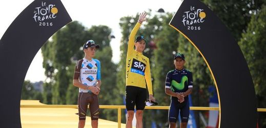 Chris Froome je vítězem Tour de France.