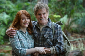 Robert Redford a Bryce Dallasová Howardová.