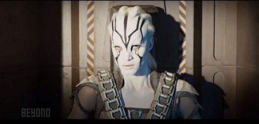 Sofia Boutella ve filmu Star Trek Beyond.