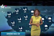 Nejlepší počasí: předpověď na noc a úterý