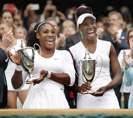 Serena a Venus Williamsovy.