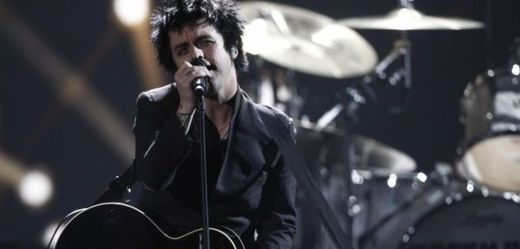 Frontman kapely Green Day Billie Joe Armstrong.