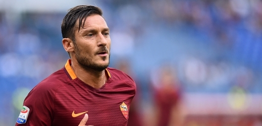 Francesco Totti, legenda AS Řím.