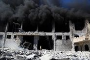 Británie obvinila Rusko z válečných zločinů v Sýrii