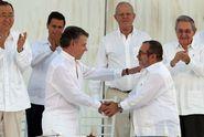 Kolumbie a FARC podepsaly historickou mírovou dohodu