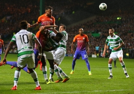 Celtic remizoval s Manchesterem City 3:3.