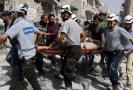 Nekončící boje v Aleppu.