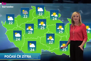 Nejlepší počasí: předpověď na noc a sobotu