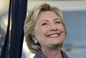 Kandidující demokratka Hillary Clintonová.