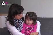 TV Barrandov: Rodina ochrnuté Eričky čeká na její první krůčky