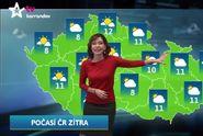 Nejlepší počasí: předpověď na noc a čtvrtek