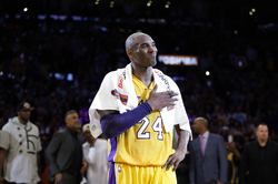 Legenda a bývalý hráč Los Angeles Lakers Kobe Bryant.