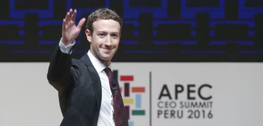 Mark Zuckerberg na summitu APEC.