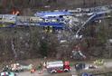 Nejhorší železniční neštěstí v Bavorsku za více než čtyřicet let.