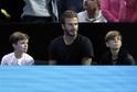 David Beckham se syny Cruzem (vlevo) a Romeem.