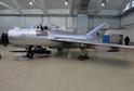 Nově opravený stíhací bombardér MiG-15.