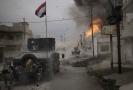 Boje v Mosulu.