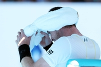 Andy Murray po prohře se Zverevem.