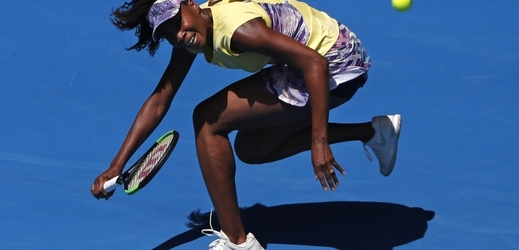 Venus Williamsová na Australian Open.