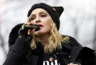 Madonna na Women´s March.