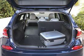 Rodinnému charakteru odpovídá i velikost zavazadlového prostoru.