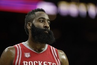 Americký basketbalista Houstonu Rockets James Harden.