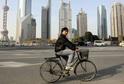 Jízda na kole se stala módním trendem v Číně.