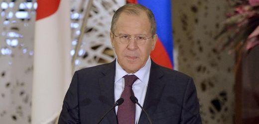 Ruský ministr zahraničí Sergej Lavrov.