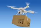Doručovací dron (ilustrační foto).