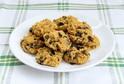 Cizrnové sušenky s čokoládou podle receptu blogerky Sandry Šlajchové.