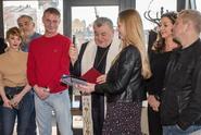 Herci a tvůrci pohádky Anděl Páně 2 si připili na rekordní úspěch!