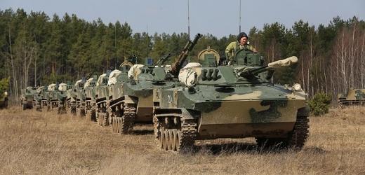 Cvičení ruské armády.