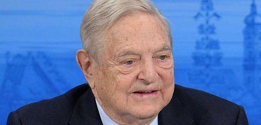 Americký miliardář George Soros.