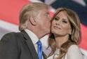 Donald a Melania Trumpovi.