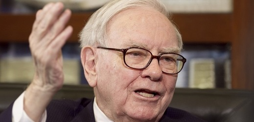 Miliardář Warren Buffett.