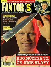 Aktuální obálka časopisu FAKTOR S.