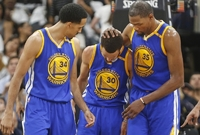 Basketbalisté Golden State Warriors.