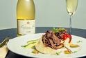 Těšit se můžete na jedinečné snoubení pokrmů a šumivých vín.
