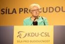 Zuzana Roithová na sjezdu KDU-ČSL.