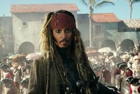 Johnny Depp alias Jack Sparrow.