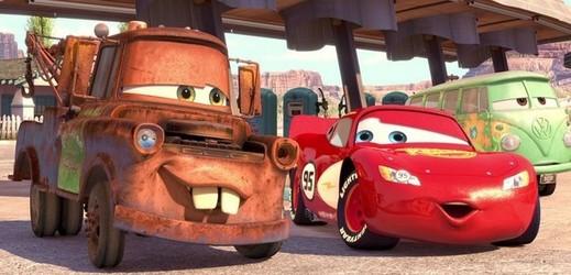 Snímek z filmu Auta 3.