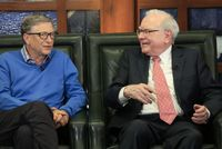 Bill Gates (vlevo) a Warren Buffett.