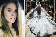 Slavná dědička se vdávala v šatech za 21 milionů korun!