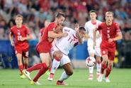 Česko - Dánsko 2:4. Fotbalisté na semifinále ME nedosáhli