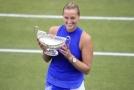 Petra Kvitová získala titul na trávě v Birminghamu.