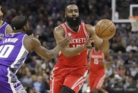 Americký basketbalista James Harden.